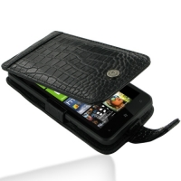 10% OFF + FREE SHIPPING, Buy Best PDair Top Quality Handmade Protective HTC Titan Leather Flip Case (Black Croc Pattern) online. Pouch Sleeve Holster Wallet You also can go to the customizer to create your own stylish leather case if looking for additiona