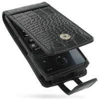 10% OFF + FREE SHIPPING, Buy Best PDair Quality Handmade Protective HTC Touch Diamond 100 Leather Flip Case (Black Croc Pattern). Pouch Sleeve Holster Wallet You also can go to the customizer to create your own stylish leather case if looking for addition