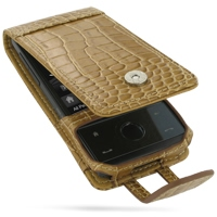 10% OFF + FREE SHIPPING, Buy Best PDair Quality Handmade Protective HTC Touch Diamond 100 Leather Flip Case (Brown Croc Pattern). Pouch Sleeve Holster Wallet You also can go to the customizer to create your own stylish leather case if looking for addition