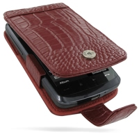 10% OFF + FREE SHIPPING, Buy Best PDair Top Quality Handmade Protective HTC Touch HD Leather Flip Case (Red Croc Pattern). Pouch Sleeve Holster Wallet You also can go to the customizer to create your own stylish leather case if looking for additional colo