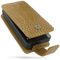 10% OFF + FREE SHIPPING, Buy Best PDair Top Quality Handmade Protective HTC Touch Pro Leather Flip Case (Brown Croc Pattern). Pouch Sleeve Holster Wallet You also can go to the customizer to create your own stylish leather case if looking for additional c