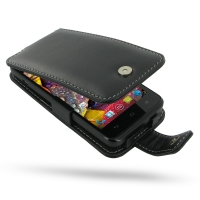Huawei Ascend D1 XL Leather Flip Case PDair Premium Hadmade Genuine Leather Protective Case Sleeve Wallet