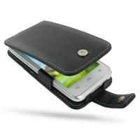 Leather Flip Case for Huawei Ascend G330D U8825D
