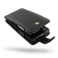 Huawei Ascend P1 XL Leather Flip Case PDair Premium Hadmade Genuine Leather Protective Case Sleeve Wallet