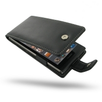 Huawei Ascend P6 Leather Flip Case PDair Premium Hadmade Genuine Leather Protective Case Sleeve Wallet