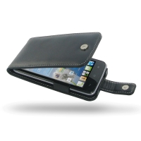 Huawei Ascend Y511 Leather Flip Case PDair Premium Hadmade Genuine Leather Protective Case Sleeve Wallet