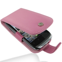 Huawei U8650 Leather Flip Case (Petal Pink) PDair Premium Hadmade Genuine Leather Protective Case Sleeve Wallet