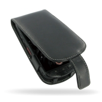 KYOCERA TORQUE G01 Leather Flip Case PDair Premium Hadmade Genuine Leather Protective Case Sleeve Wallet