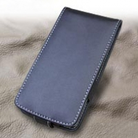 LG isai LGL22 Leather Flip Case PDair Premium Hadmade Genuine Leather Protective Case Sleeve Wallet
