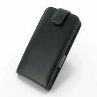 LG L90-D410 Leather Flip Case PDair Premium Hadmade Genuine Leather Protective Case Sleeve Wallet