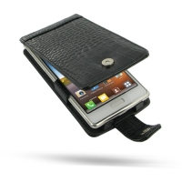 10% OFF + FREE SHIPPING, Buy Best PDair Top Quality Handmade Protective LG Optimus L7 Leather Flip Case (Black Croc Pattern). Pouch Sleeve Holster Wallet You also can go to the customizer to create your own stylish leather case if looking for additional c