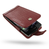 10% OFF + FREE SHIPPING, Buy PDair Top Quality Handmade Protective Motorola Droid Razr HD Leather Flip Case (Red Croc Pattern). Pouch Sleeve Holster Wallet You also can go to the customizer to create your own stylish leather case if looking for additional