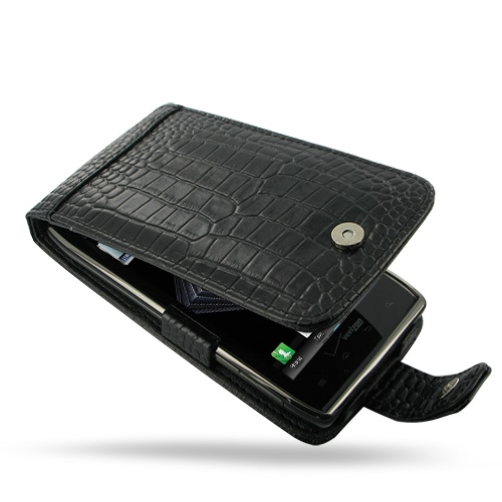 10% OFF + FREE SHIPPING, Buy Best PDair Quality Handmade Protective Motorola Droid Razr Maxx Leather Flip Case (Black Croc Pattern). You also can go to the customizer to create your own stylish leather case if looking for additional colors, patterns and t