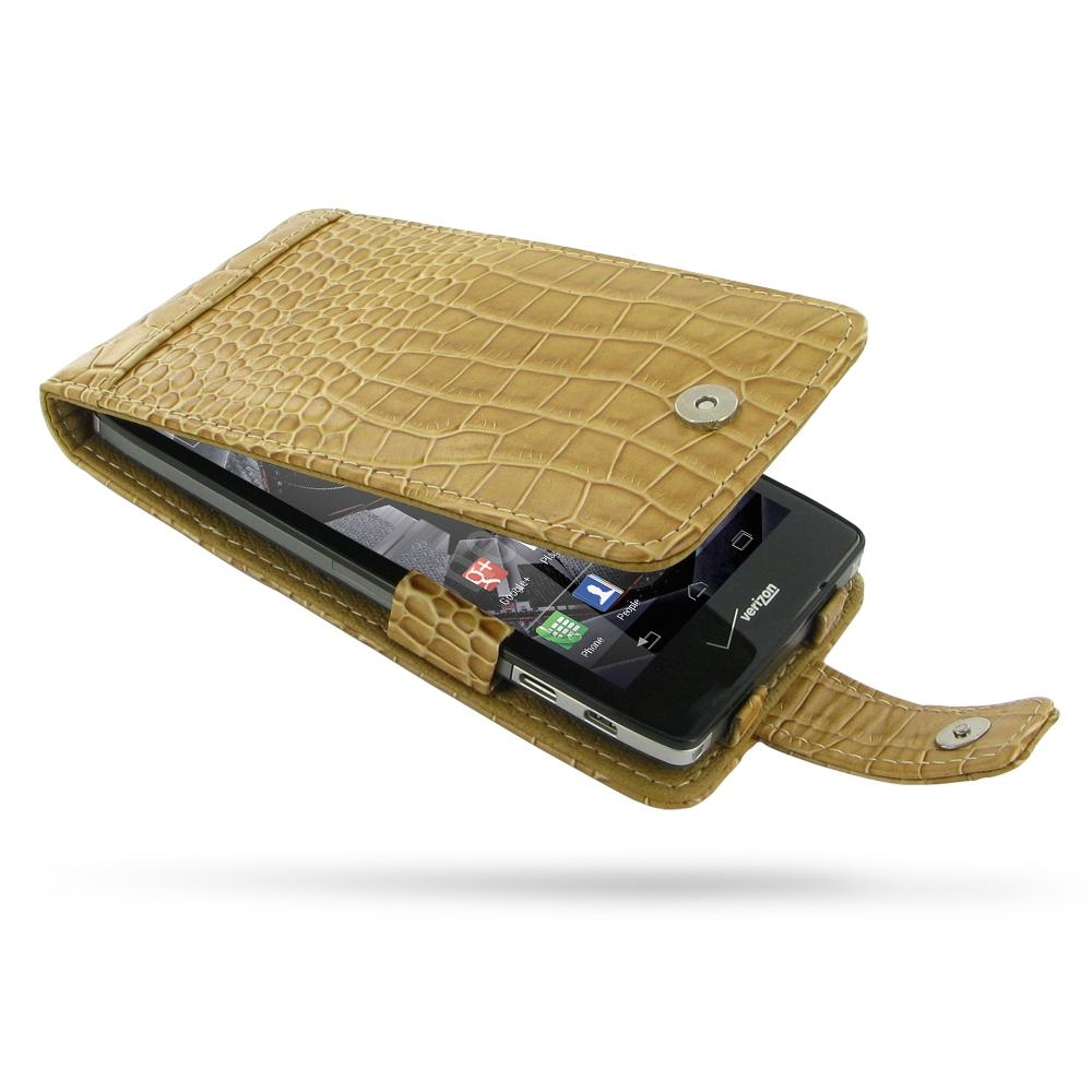 10% OFF + FREE SHIPPING, Buy PDair Quality Handmade Protective Motorola Droid Razr Maxx HD Leather Flip Case (Brown Croc Pattern) online. You also can go to the customizer to create your own stylish leather case if looking for additional colors, patterns
