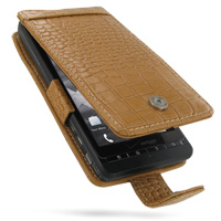 10% OFF + FREE SHIPPING, Buy PDair Quality Handmade Protective Motorola DROID X / Milestone X Leather Flip Case (Brown Croc Pattern). You also can go to the customizer to create your own stylish leather case if looking for additional colors, patterns and