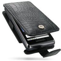 10% OFF + FREE SHIPPING, Buy PDair Quality Handmade Protective Motorola Milestone 2 / DROID 2 Leather Flip Case (Black Croc Pattern). You also can go to the customizer to create your own stylish leather case if looking for additional colors, patterns and