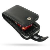 Nokia 5530 XpressMusic Leather Flip Case (Black) PDair Premium Hadmade Genuine Leather Protective Case Sleeve Wallet