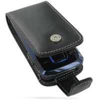 Nokia 7100 Supernova Leather Flip Case (Black) PDair Premium Hadmade Genuine Leather Protective Case Sleeve Wallet