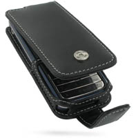 Nokia 7310 Supernova Leather Flip Case (Black) PDair Premium Hadmade Genuine Leather Protective Case Sleeve Wallet