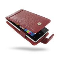 10% OFF + FREE SHIPPING, Buy Best PDair Top Quality Handmade Protective Nokia Lumia 520 Leather Flip Case (Red Croc Pattern). Pouch Sleeve Holster Wallet You also can go to the customizer to create your own stylish leather case if looking for additional c