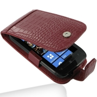 10% OFF + FREE SHIPPING, Buy Best PDair Top Quality Handmade Protective Nokia Lumia 710 Leather Flip Case (Red Croc Pattern). Pouch Sleeve Holster Wallet You also can go to the customizer to create your own stylish leather case if looking for additional c