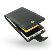 Nokia Lumia 920 Leather Flip Case PDair Premium Hadmade Genuine Leather Protective Case Sleeve Wallet