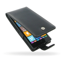 Nokia Lumia 930 Leather Flip Case PDair Premium Hadmade Genuine Leather Protective Case Sleeve Wallet
