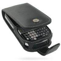 Leather Flip Case for Palm Centro (Black)