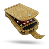 10% OFF + FREE SHIPPING, Buy PDair Top Quality Handmade Protective Samsung Droid Charge Leather Flip Case (Brown Croc Pattern). Pouch Sleeve Holster Wallet You also can go to the customizer to create your own stylish leather case if looking for additional