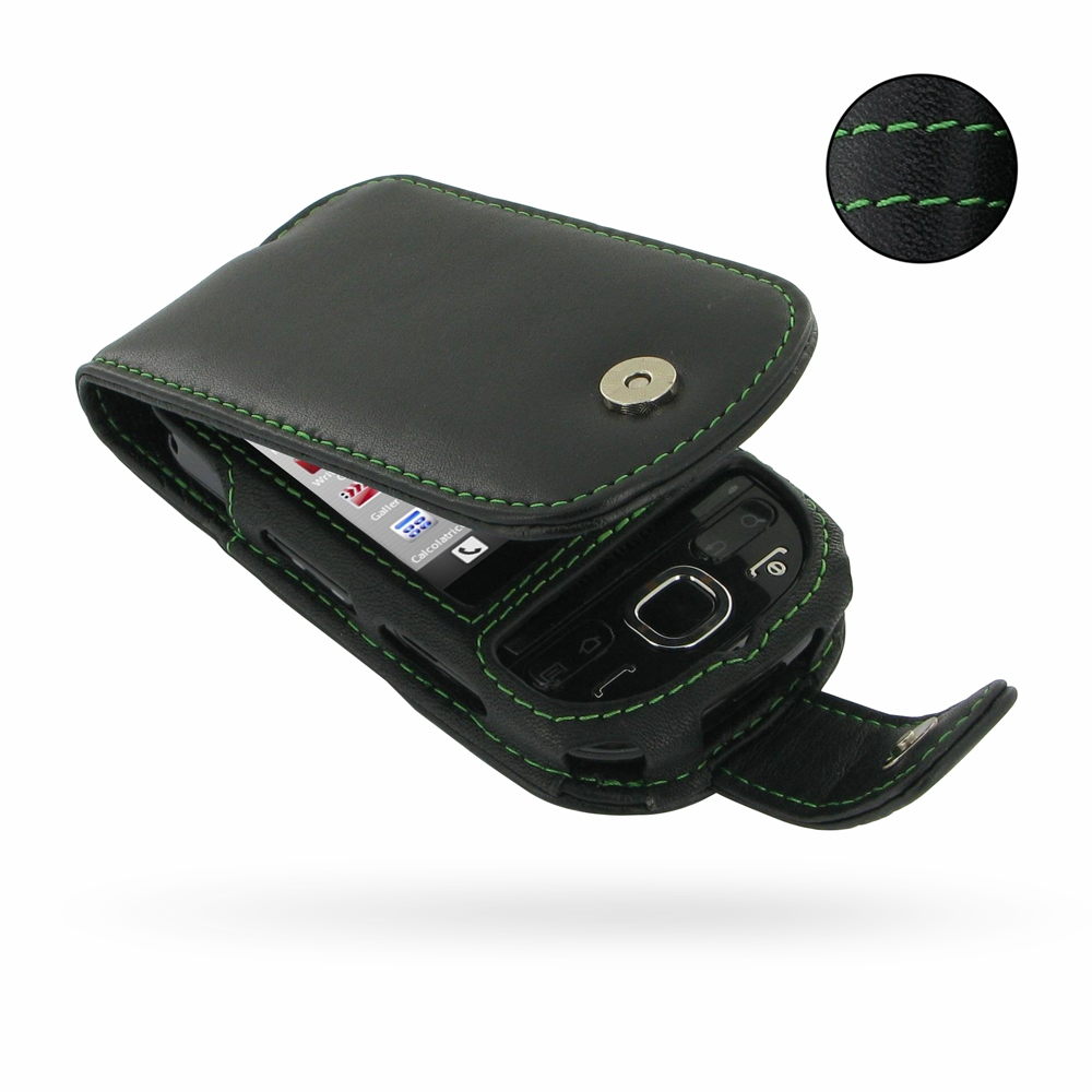 10% OFF + FREE SHIPPING, Buy PDair Quality Handmade Protective Samsung Galaxy 5 / Galaxy Europa Leather Flip Case (Green Stitch) online. You also can go to the customizer to create your own stylish leather case if looking for additional colors, patterns a