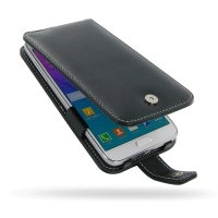 Samsung Galaxy Grand Max Leather Flip Case PDair Premium Hadmade Genuine Leather Protective Case Sleeve Wallet