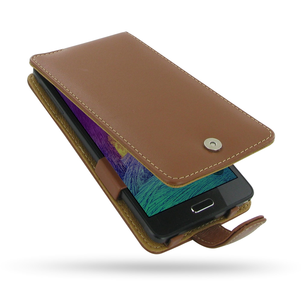 10% OFF + FREE SHIPPING, Buy Best PDair Handmade Protective Samsung Galaxy Note 4 Leather Flip Case without Belt Clip (Brown) online. You also can go to the customizer to create your own stylish leather case if looking for additional colors, patterns and