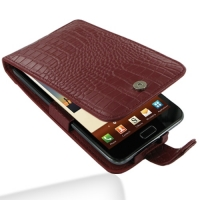 10% OFF + FREE SHIPPING, Buy PDair Top Quality Handmade Protective Samsung Galaxy Note Leather Flip Case (Red Croc Pattern) online. You also can go to the customizer to create your own stylish leather case if looking for additional colors, patterns and ty