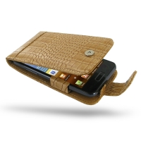 10% OFF + FREE SHIPPING, Buy Best PDair Quality Handmade Protective Samsung Galaxy S Advance Leather Flip Case (Brown Croc Pattern). You also can go to the customizer to create your own stylish leather case if looking for additional colors, patterns and t
