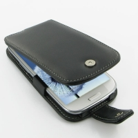 Leather Flip Case for Samsung Galaxy S III S3 GT-i9300