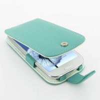 10% OFF + FREE SHIPPING, Buy Best PDair Top Quality Handmade Protective Samsung Galaxy S3 Leather Flip Case (Aqua) online. Pouch Sleeve Holster Wallet You also can go to the customizer to create your own stylish leather case if looking for additional colo