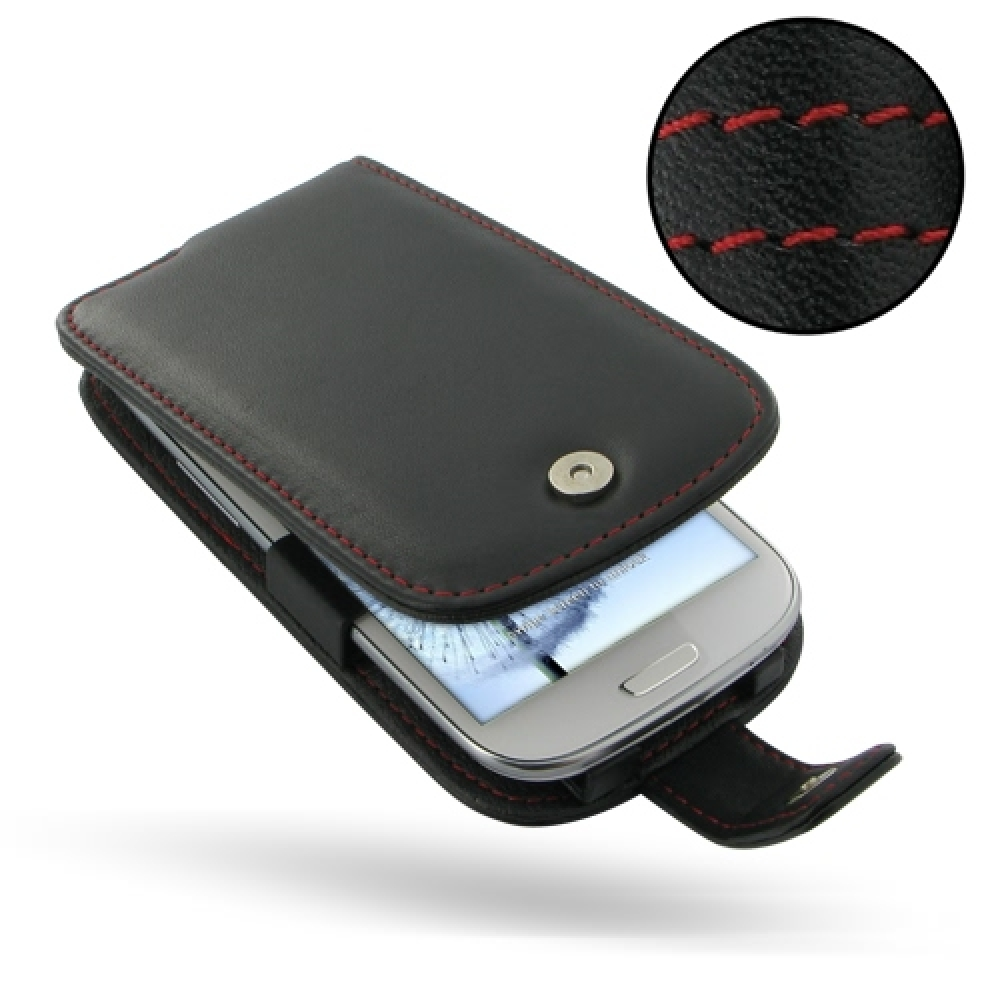 10% OFF + FREE SHIPPING, Buy Best PDair Top Quality Handmade Protective Samsung Galaxy S3 Leather Flip Case (Red Stitch) online. Pouch Sleeve Holster Wallet You also can go to the customizer to create your own stylish leather case if looking for additiona