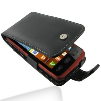 Samsung Galaxy xCcover Leather Flip Case PDair Premium Hadmade Genuine Leather Protective Case Sleeve Wallet