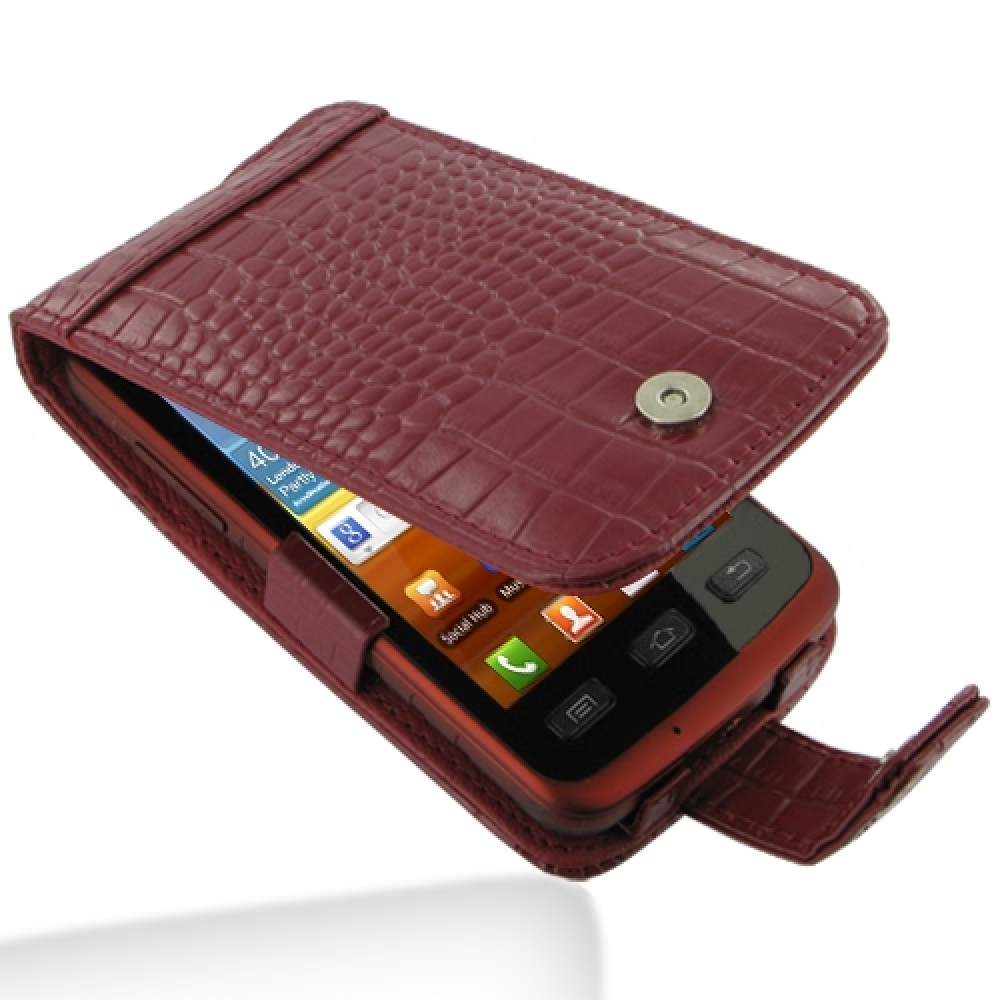 10% OFF + FREE SHIPPING, Buy PDair Top Quality Handmade Protective Samsung Galaxy xCcover Leather Flip Case (Red Croc Pattern). Pouch Sleeve Holster Wallet You also can go to the customizer to create your own stylish leather case if looking for additional