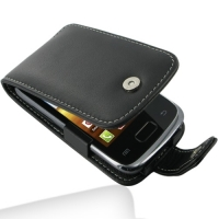 Leather Flip Case for Samsung Galaxy Y Duos GT-S6102