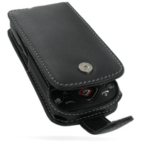 Leather Flip Case for Samsung i5700 Galaxy Spica (Black)