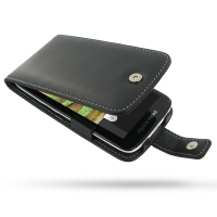 Leather Flip Case for Sharp Aquos Phone SH930W