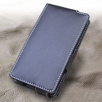 Leather Flip Case for Sharp Aquos Phone XX SoftBank 302SH