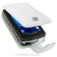 10% OFF + FREE SHIPPING, Buy PDair Top Quality Handmade Protective Sony Ericsson Xperia X10 mini Pro Leather Flip Case (White). Pouch Sleeve Holster Wallet You also can go to the customizer to create your own stylish leather case if looking for additional