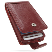 10% OFF + FREE SHIPPING, Buy Best PDair Handmade Protective Sony Ericsson Xperia X10 Leather Flip Case (Snap Button) (Red Croc Pattern). You also can go to the customizer to create your own stylish leather case if looking for additional colors, patterns a
