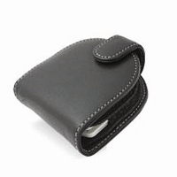 Sony PSP Leather Flip Case (Black) PDair Premium Hadmade Genuine Leather Protective Case Sleeve Wallet