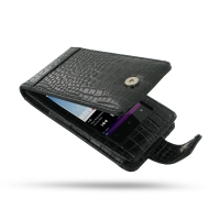 10% OFF + FREE SHIPPING, Buy PDair Quality Handmade Protective Sony Walkman NWZ-F805 F806 F804 Leather Flip Case (Black Croc Pattern). You also can go to the customizer to create your own stylish leather case if looking for additional colors, patterns and