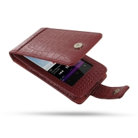 10% OFF + FREE SHIPPING, Buy PDair Quality Handmade Protective Sony Walkman NWZ-F805 F806 F804 Leather Flip Case (Red Croc Pattern) online. You also can go to the customizer to create your own stylish leather case if looking for additional colors, pattern