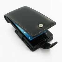 Sony Xperia Ion Leather Flip Case PDair Premium Hadmade Genuine Leather Protective Case Sleeve Wallet