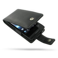 10% OFF + FREE SHIPPING, Buy Best PDair Top Quality Handmade Protective Sony Xperia Miro Leather Flip Case (Black) online. Pouch Sleeve Holster Wallet You also can go to the customizer to create your own stylish leather case if looking for additional colo